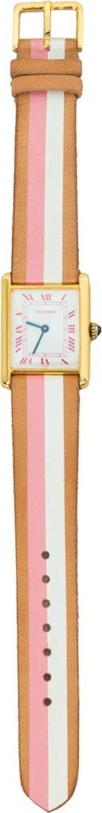 laCalifornienne White and pink Tank watch