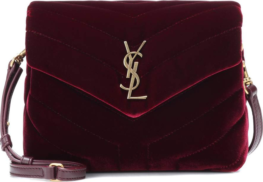 ec02e95ad7 Saint Laurent Toy Loulou velvet shoulder bag - Mkt
