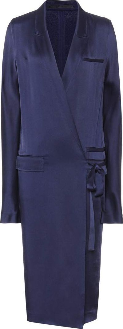 Haider Ackermann Satin dress
