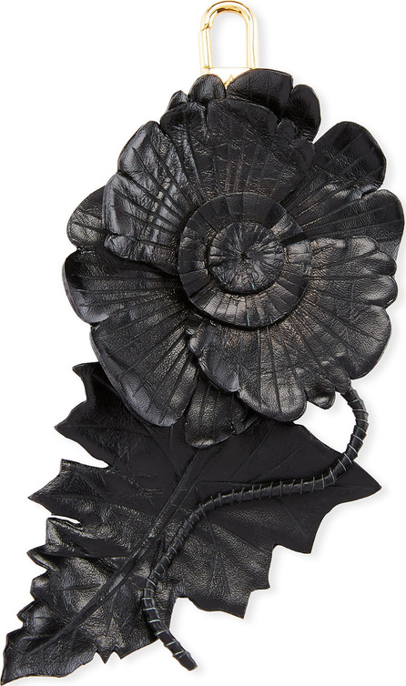 Altuzarra Leather Flower Charm for Handbag