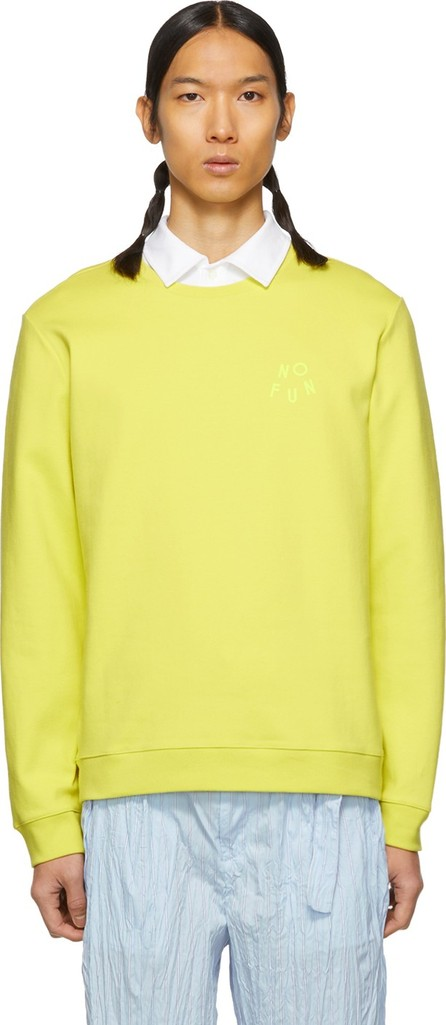 A.P.C. Yellow 'No Fun' Sweatshirt