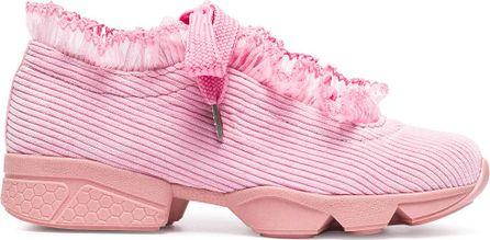 Ganni Pink Dee Trainers