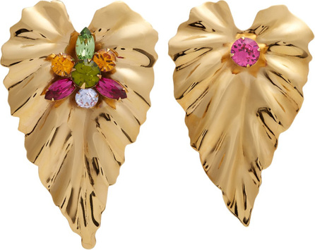 Rodarte Gold-plated mismatched earrings