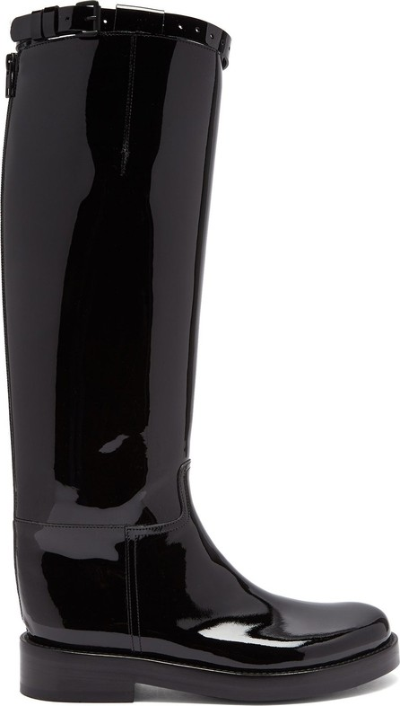 Ann Demeulemeester Knee-high patent-leather boots