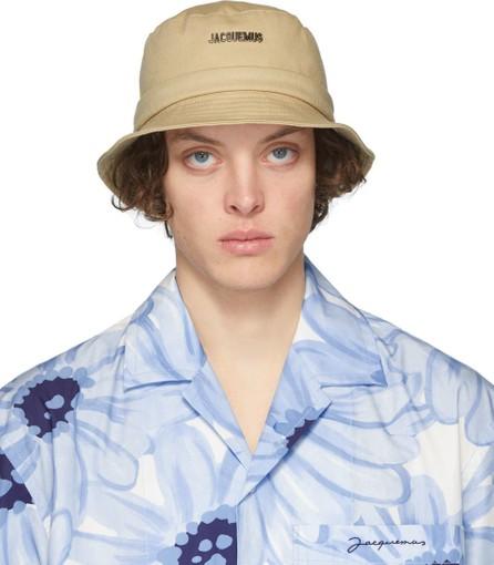 Jacquemus Beige 'Le Bob Gadjo' Bucket Hat