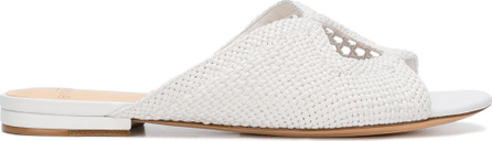 Alexandre Birman Woven perforated mules