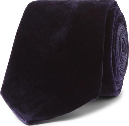 Lanvin 7cm Velvet Tie
