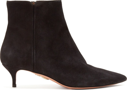 Quant 45 point-toe suede ankle boots