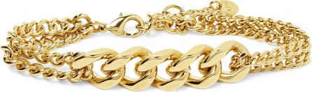 A.P.C. Logo-Engraved Gold-Tone Chain Bracelet