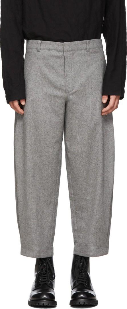 Toogood Grey Wool 'The Artist' Trousers