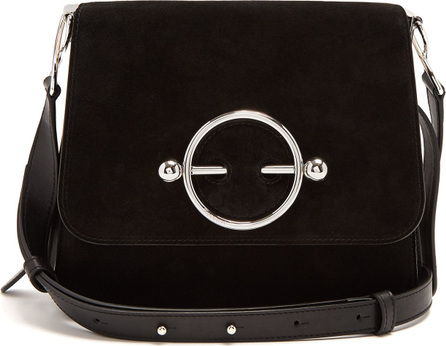 J.W.Anderson Disc suede cross-body bag