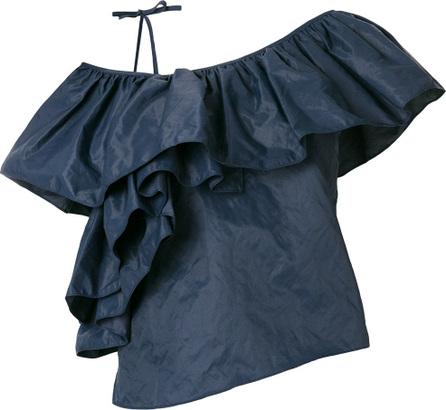 Marques'Almeida Asymmetric ruffle blouse