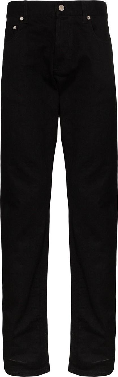 Alexander McQueen Logo straight-leg jeans
