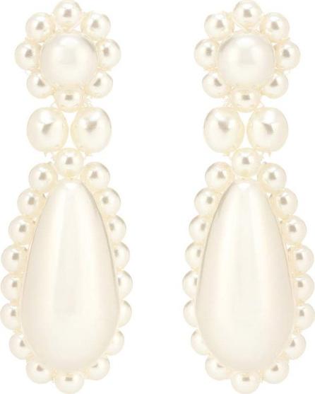 Simone Rocha Faux pearl drop earrings