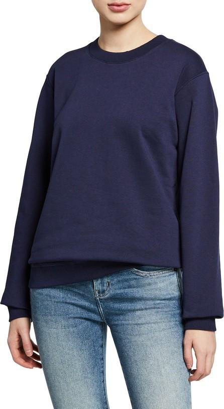 Notify Crewneck Long-Sleeve Cotton Sweatshirt