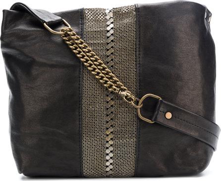 Laura B Mini Maxi embellished bag