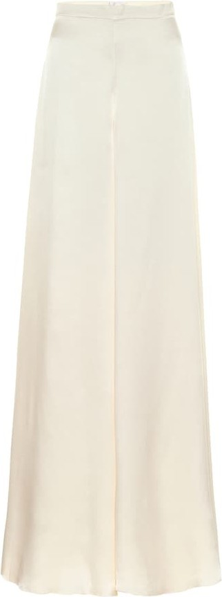 Temperley London Castalia silk-satin bridal pants
