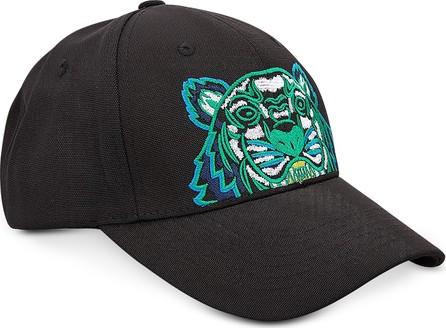 KENZO Black Nylon Kenzo Logo Sport Baseball Cap - Mkt 30471e732dbb