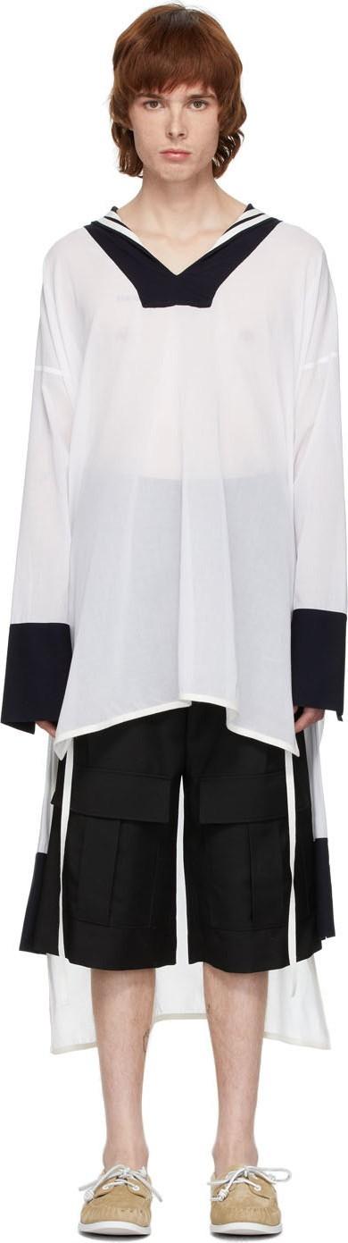 LOEWE White Sailor Tunic Shirt