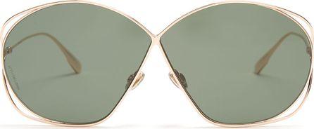 Dior Stellaire2 oversized metal sunglasses