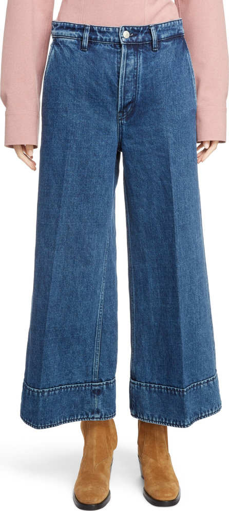 Acne Studios Crop Wide Leg Jeans