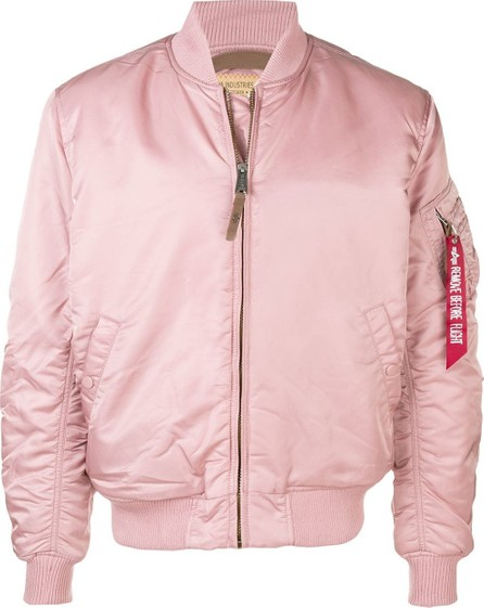 Alpha Industries Zipped bomber jacket