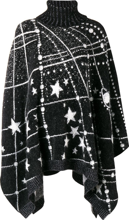 Saint Laurent Constellation knitted poncho