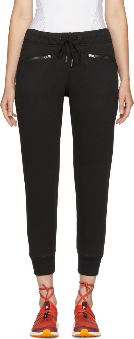 Adidas By Stella McCartney Black Essentials Lounge Pants