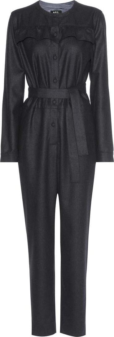 A.P.C. Lana wool jumpsuit