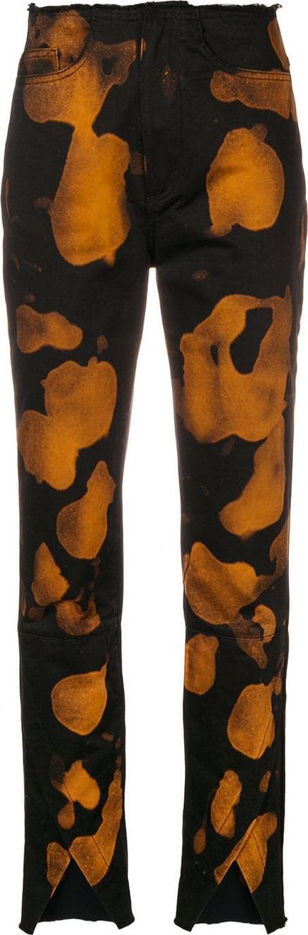Marques'Almeida Bleach print jeans