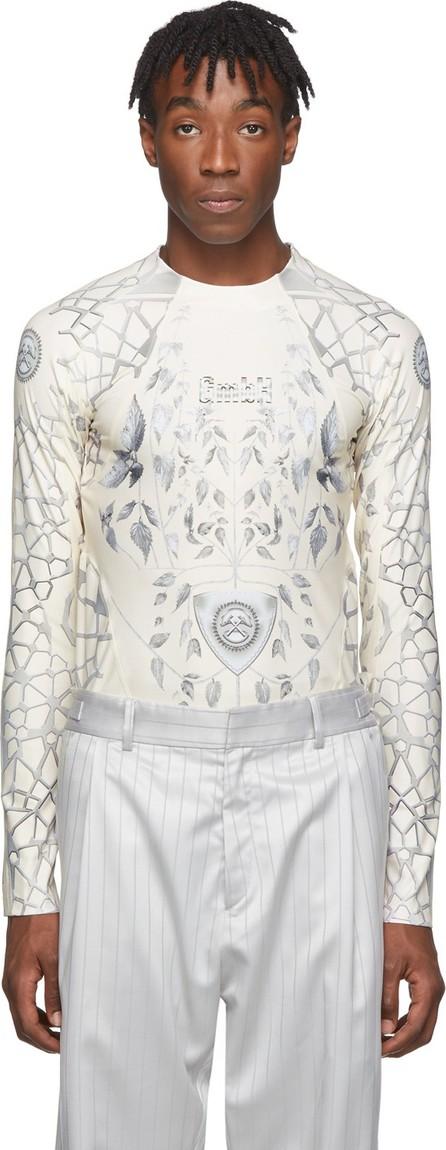 GmbH Beige & Grey Jersey Ada T-Shirt