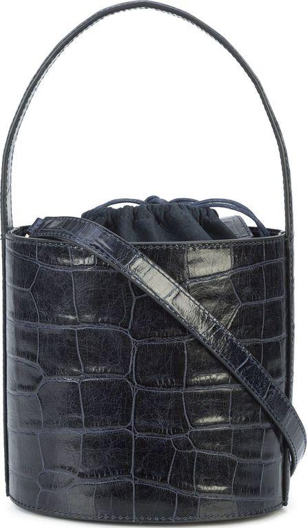 Staud Crocodile effect bucket bag