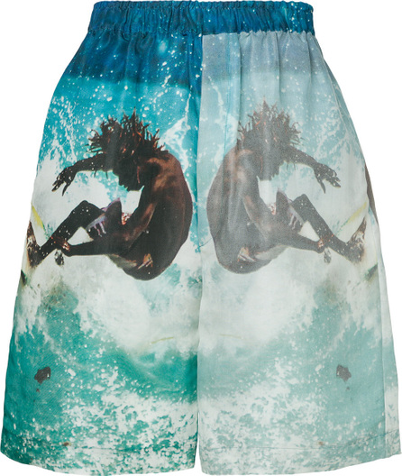 Ex Infinitas Surf print shorts