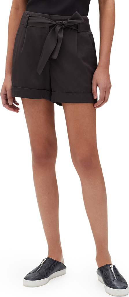 Lafayette 148 New York Greenpoint City Urbane Satin Shorts