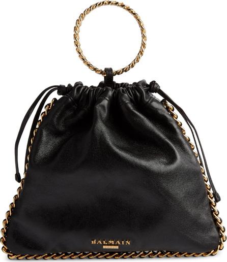 Balmain Leather Bracelet Backpack