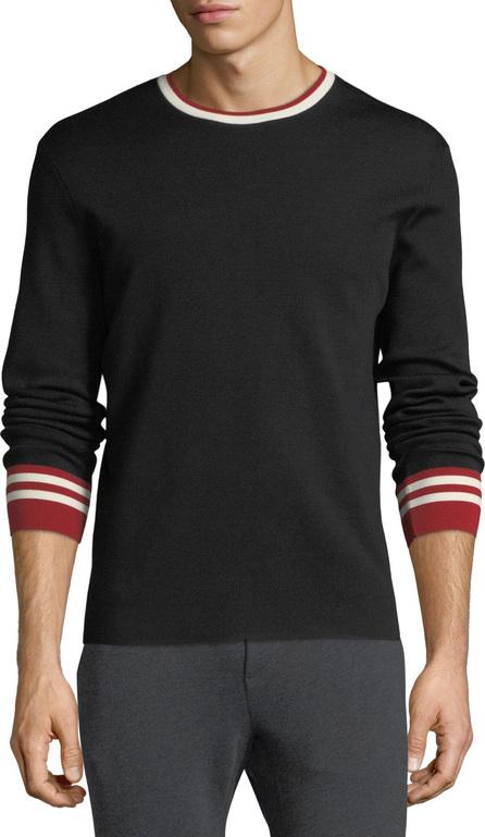 Ralph Lauren Contrast-Trim Wool Sweater