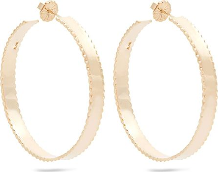 Alison Lou Yellow-gold Lasagne earrings