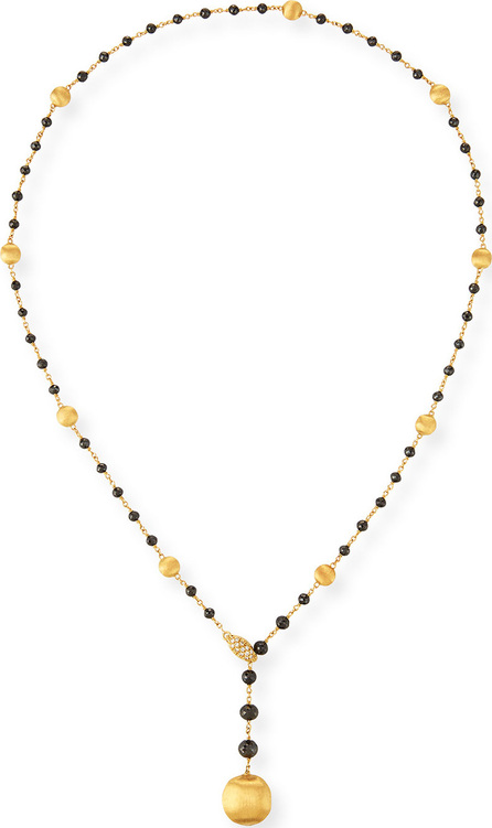 Marco Bicego 18k Africa Diamond Y-Drop Necklace