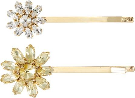 Rosantica Utopia' multi colour crystal embellished hair pin set