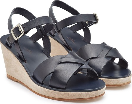 A.P.C. Judith Leather Sandals