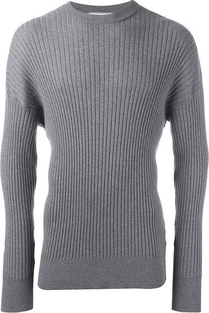 AMI oversize crew neck sweater
