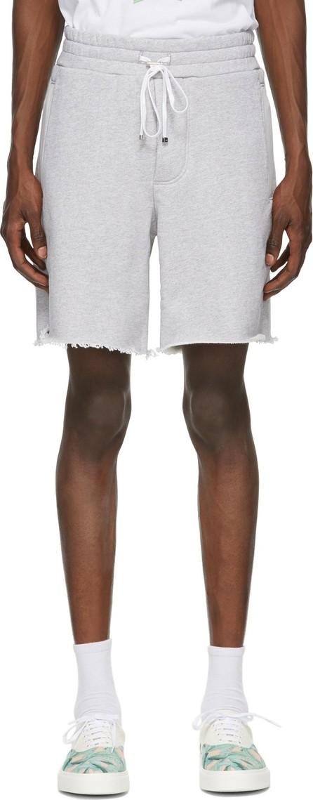Amiri Grey Logo Core Sweat Shorts