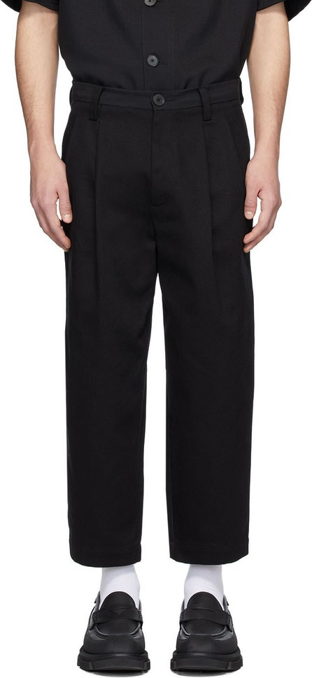Goodfight Black Daily Drive Trousers