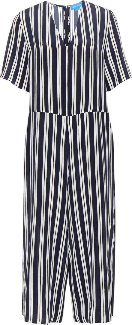 b195012d718 M.i.h Jeans Hart striped silk jumpsuit - Mkt