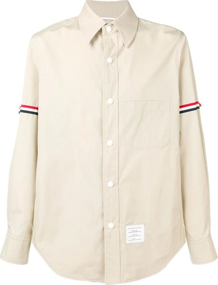 Thom Browne SNAP FRONT Grosgrain Armband SHIRT