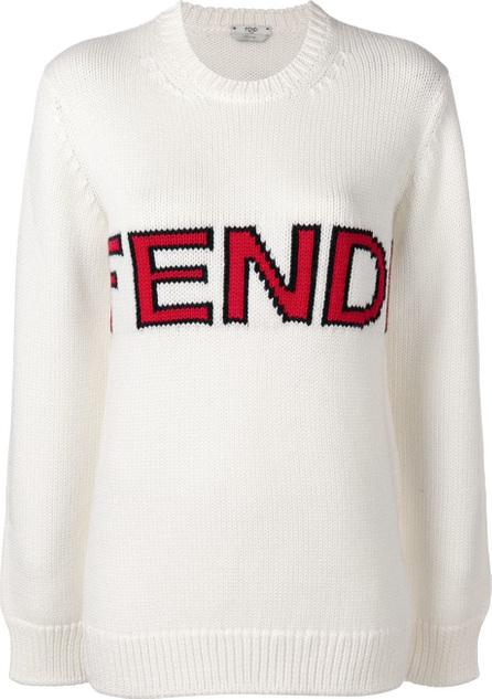 Fendi Brand logo sweater