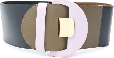 Marni Colour block wide belt