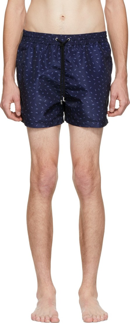 Paul Smith SSENSE Exclusive Navy Saturn Swim Shorts