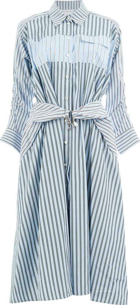 Carven Striped shirt dress