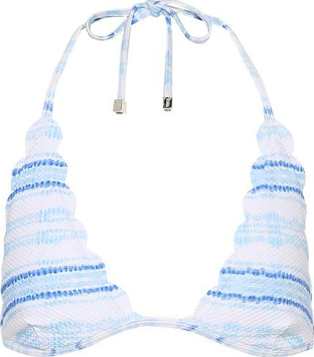 HEIDI KLEIN Gili Islands striped bikini top